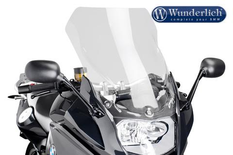 Высокое ветровое стекло BMW F800GT прозрачное