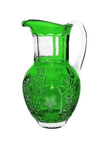 Кувшины Кувшин 1200мл Ajka Crystal Grape зеленый kuvshin-1200ml-ajka-crystal-grape-zelenyy-vengriya.jpg