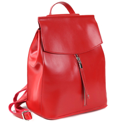 Рюкзак женский JMD Zip 2017 Ярко-Красный