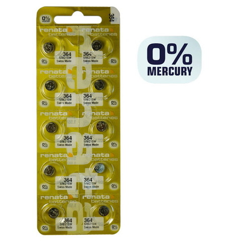 Батарейки часовые Renata SR621SW (MP-E) (364)