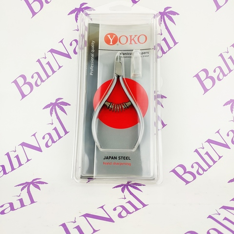 Yoko Кусачки для кутикулы, Размер лезвия - 4 мм, Спиральная пружина, (кобальт)  105*55 мм