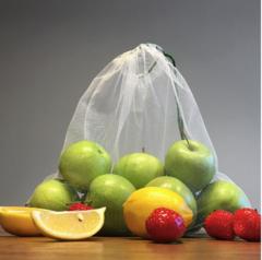Экомешочки для фруктов и овощей (фруктовки) - набор из 8 шт, Goroh bags