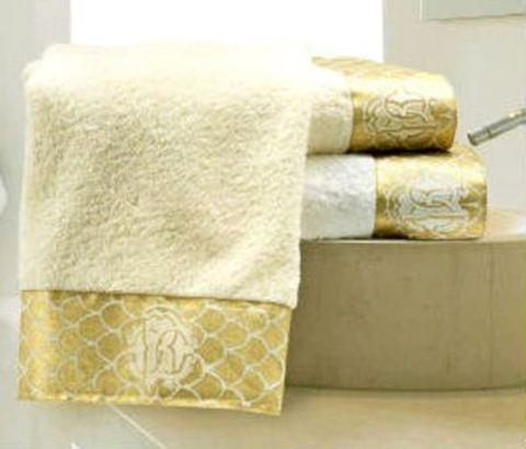Набор полотенец 5 шт Roberto Cavalli Gold бежевый