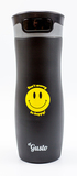 Термокружка el Gusto «Smile. Don't worry be happy!» черная 470 мл