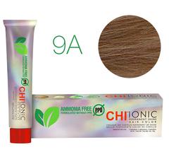 9A CHI Ionic (Светло-русый холодный) - стойкая БЕЗАММИАЧНАЯ краска для волос 90мл