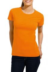 GF1006 футболка женская, оранжевая