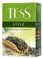"""Чай зеленый листовой """"Tess"""" Style 100г"""