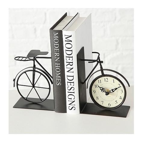Держатель для книг с часами