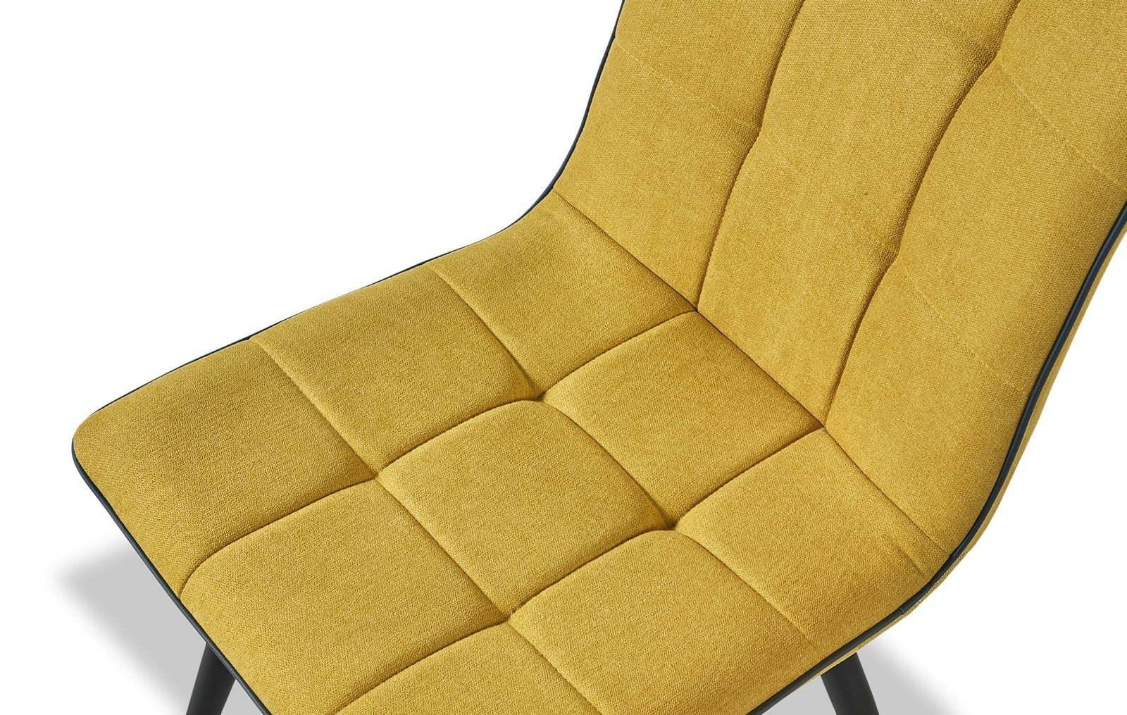 Стул ESF SKY6800-1 желтый
