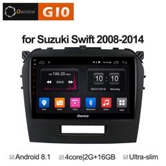Штатная магнитола на Android 8.1 для Suzuki Vitara 2 08-14 Ownice G10 S9621E