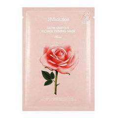 JMsolution Glow Luminous Flower Firming Mask - Маска с экстрактом дамасской розы