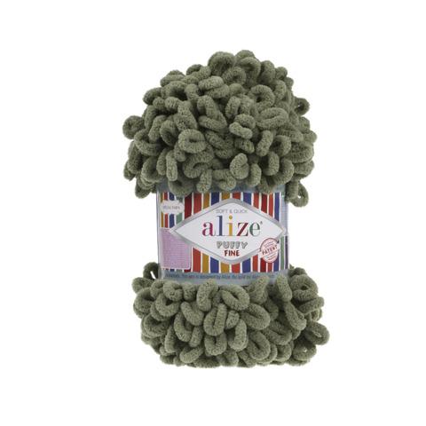 Купить Пряжа Ализе Пуффи Файн Код цвета 3 | Интернет-магазин пряжи «Пряха»