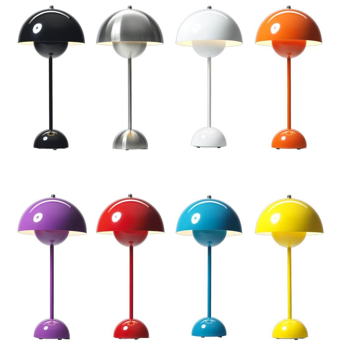 replica verner panton flowerpot 2 table lamp buy in online shop price order online. Black Bedroom Furniture Sets. Home Design Ideas