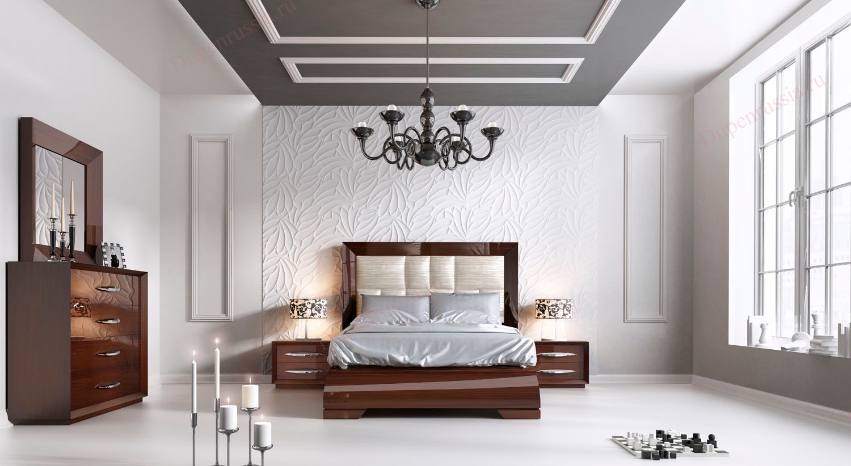 Спальня FRANCO CARMEN темный орех