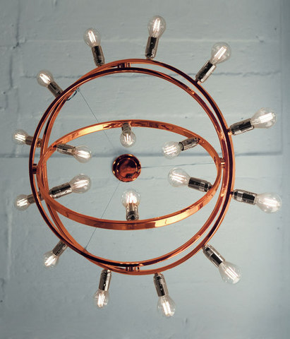 replica Licht im Raum Dione Copper