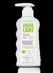 PAPA CARE. Детское масло для массажа и увлажнения 150 мл с дозатором