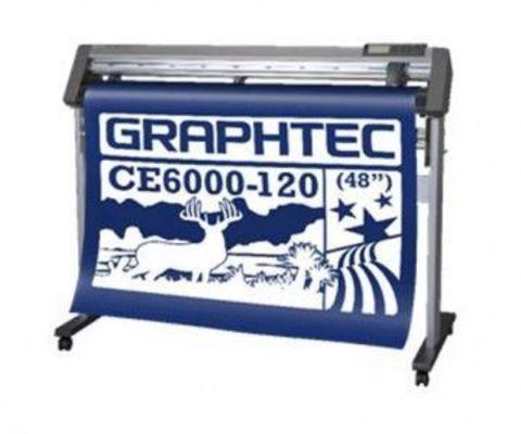 Рулонный режущий плоттер Graphtec CE6000-120AMO со стендом