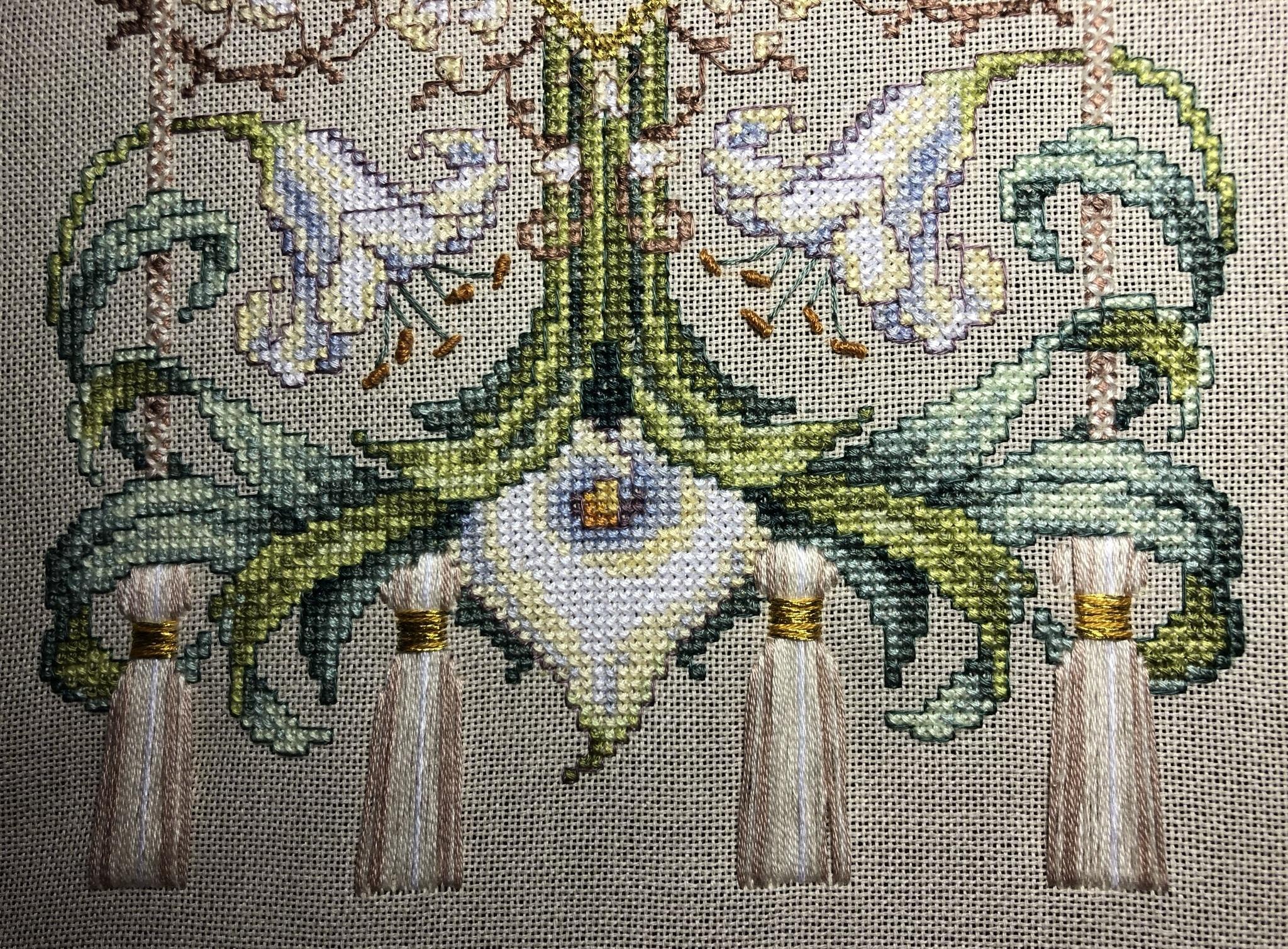 Набор для вышивания Восхитительная лилия. Exquisite Lily Sampler. Арт. 35064