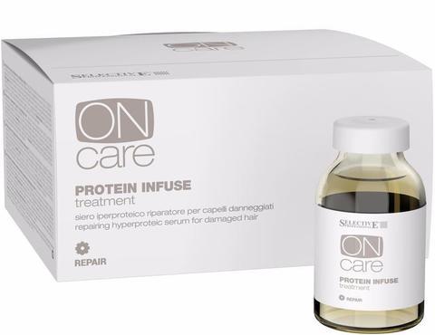 Интенсивная протеиновая сыворотка для повреждённых волос,Selective,6шт х 20мл