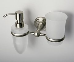 Дозатор для жидкого мыла WasserKRAFT Ammer K-7089 со стаканом