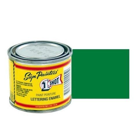 143-L Эмаль для пинстрайпинга 1 Shot Лиственно-зелёный (Process Green), 118 мл