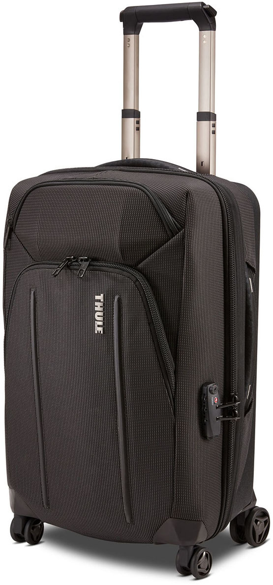 Сумки на колесах Thule Сумка на колесах Thule Crossover 2 Expandable Carry-on Spinner Thule_Crossover_2_55cm_Spinner_Carry_On_Black_Iso_3204031.jpg