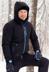 Утеплённая прогулочная лыжная куртка Nordski Montana Black мужская
