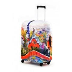 чехол для чемодана экстрапрочный «гауди»