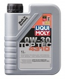 Liqui Moly Top Tec 4310 0W-30 - Синтетическое моторное масло