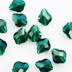 5058 Бусина Baroque Сваровски Emerald 10 мм