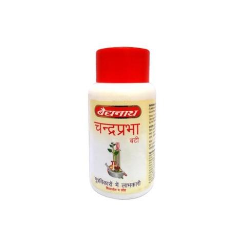 Средство для очищения Чандрапрабха вати (Chandraprabha Bati) Baidyanath, 80 таб.