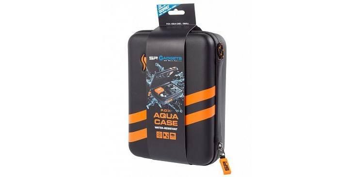 Кейс водостойкий SP POV Waterproof Case 3.0 black в упаковке