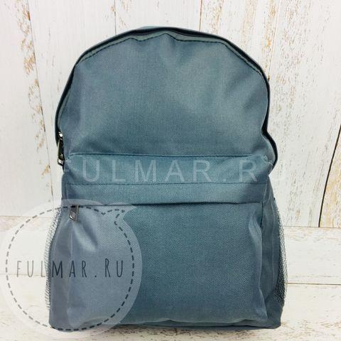 Рюкзак школьный для подростков Серо-Голубой
