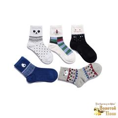 Носки для мальчика (3-8) 190108-3127.1