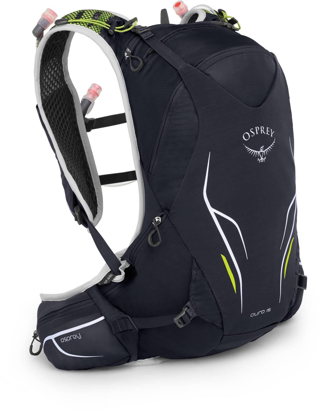Рюкзаки для бега Рюкзак беговой Osprey Duro 15 Alpine Black Duro_15_S19_Side_Alpine_Black_web.jpg