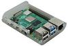 Корпус для Raspberry Pi 4 (LT-4A01 / пластик / прозрачный)