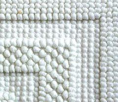 Коврик для ванной 70х120 Luxberry Универсальный белый