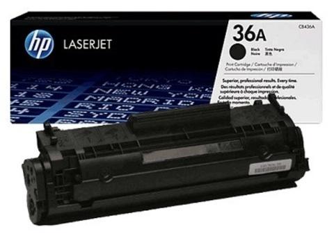 Картридж Hewlett-Packard (HP) CB436A