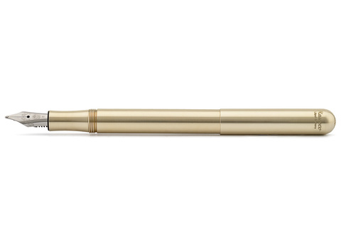 Ручка перьевая LILIPUT BB 1.3мм цвет корпуса латунный