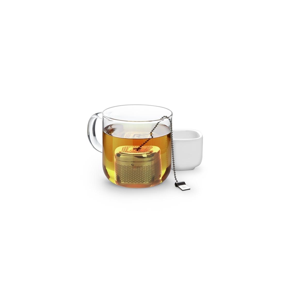 Ёмкость для заваривания чая cutea с подставкой (Umbra)