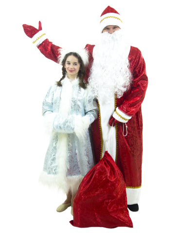 Костюм Дед Мороз узорный 2