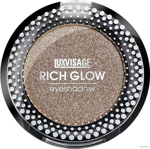 LuxVisage Тени компактные Rich Glow тон 08 night mirage 2г