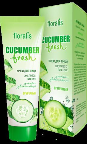 Floralis Cucumber Fresh Крем для лица экспресс-лифтинг Огуречный 50г