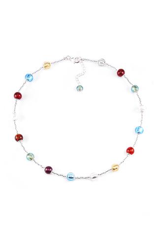 Ожерелье Carnevale Argento Piccolo цвета мультиколор