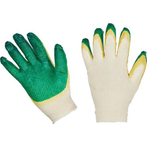 Перчатки трикотажные с двойной латексной заливкой 13 класс