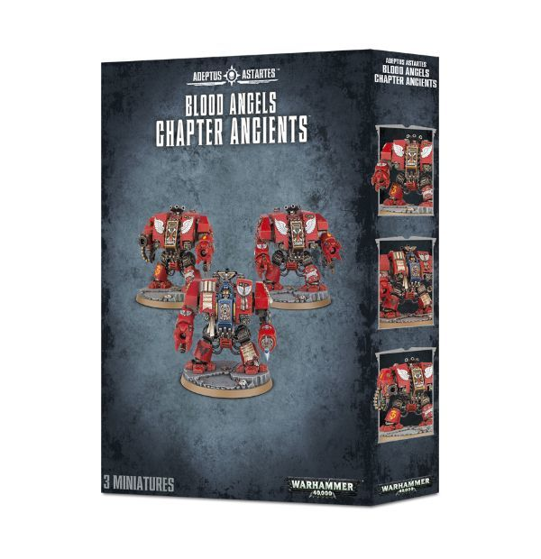 Blood Angels Chapter Ancients. Коробка