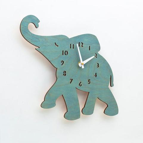 детские часы слоненок