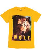 BK003-15 футболка детская, желтая
