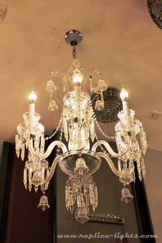 replica BACCARAT ZÉNITH CHANDELIER ( 6 lights + clear colour )