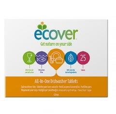 Таблетки ECOVER для посудомоечных машин, 3 в 1, 500 гр.